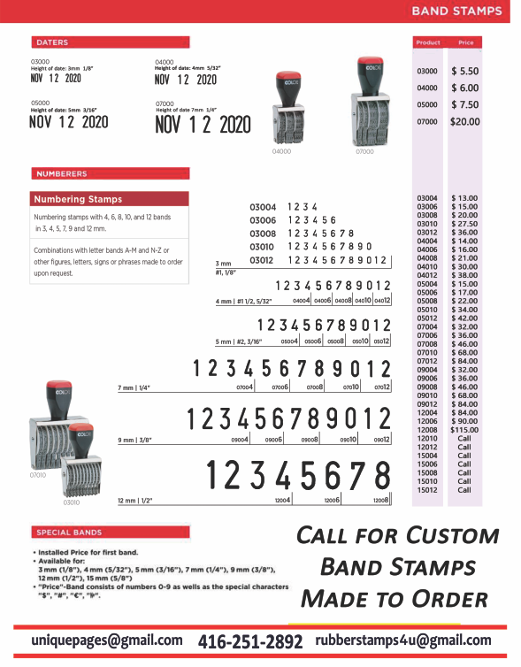 band stamps rubberstamps4u custom rubber stamps for your